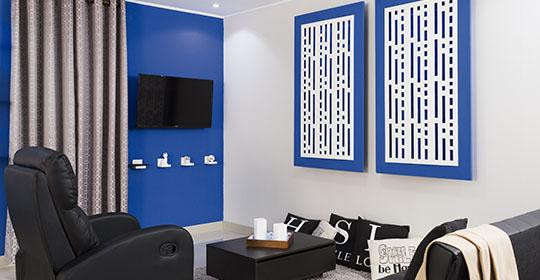 Transforme su sala en un espacio cómodo y original