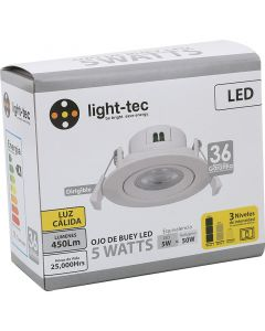EMPOTRABLE LED 5W DIMMEABLE 3TIEMPOS 3000K