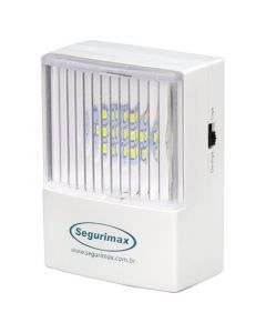 LAMP DE EMERGENCIA TOMACORRIENTE PORTATIL 15MT2 50LUM 11LED