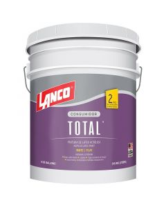 PINTURA LATEX TOTAL, JADE, 5 GALONES