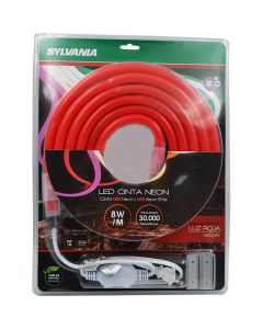 MANGUERA NEON LED COLOR ROJO 8W 3MTS