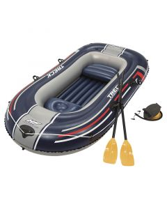 BOTE INFLABLE, 255X127X36CM, INCLUYE REMOS E INFLADOR MANUAL