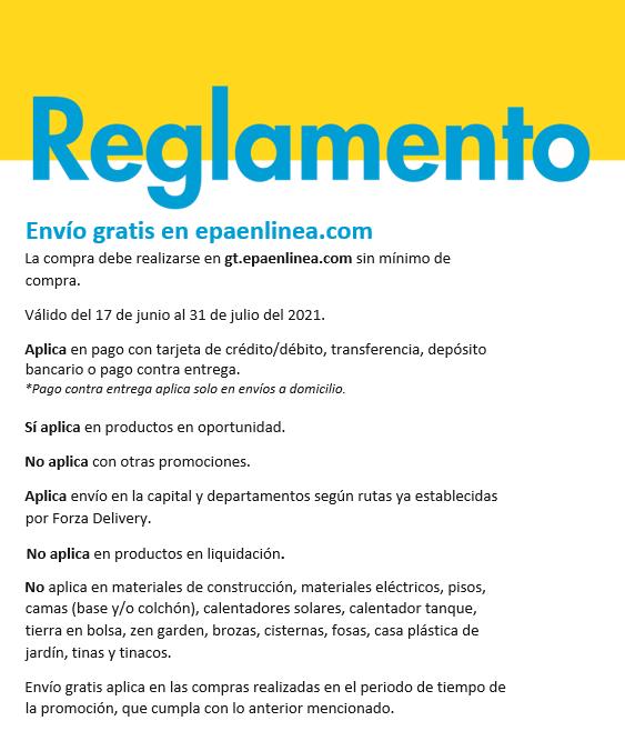 Envío gratis epaenlinea.com